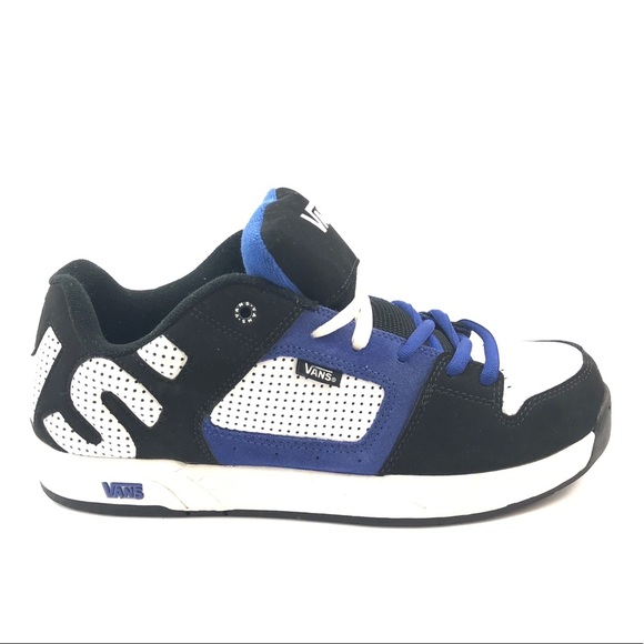 f6ffc542ed4 Vans Men s Skate Shoes Size US 11 Black White Blue